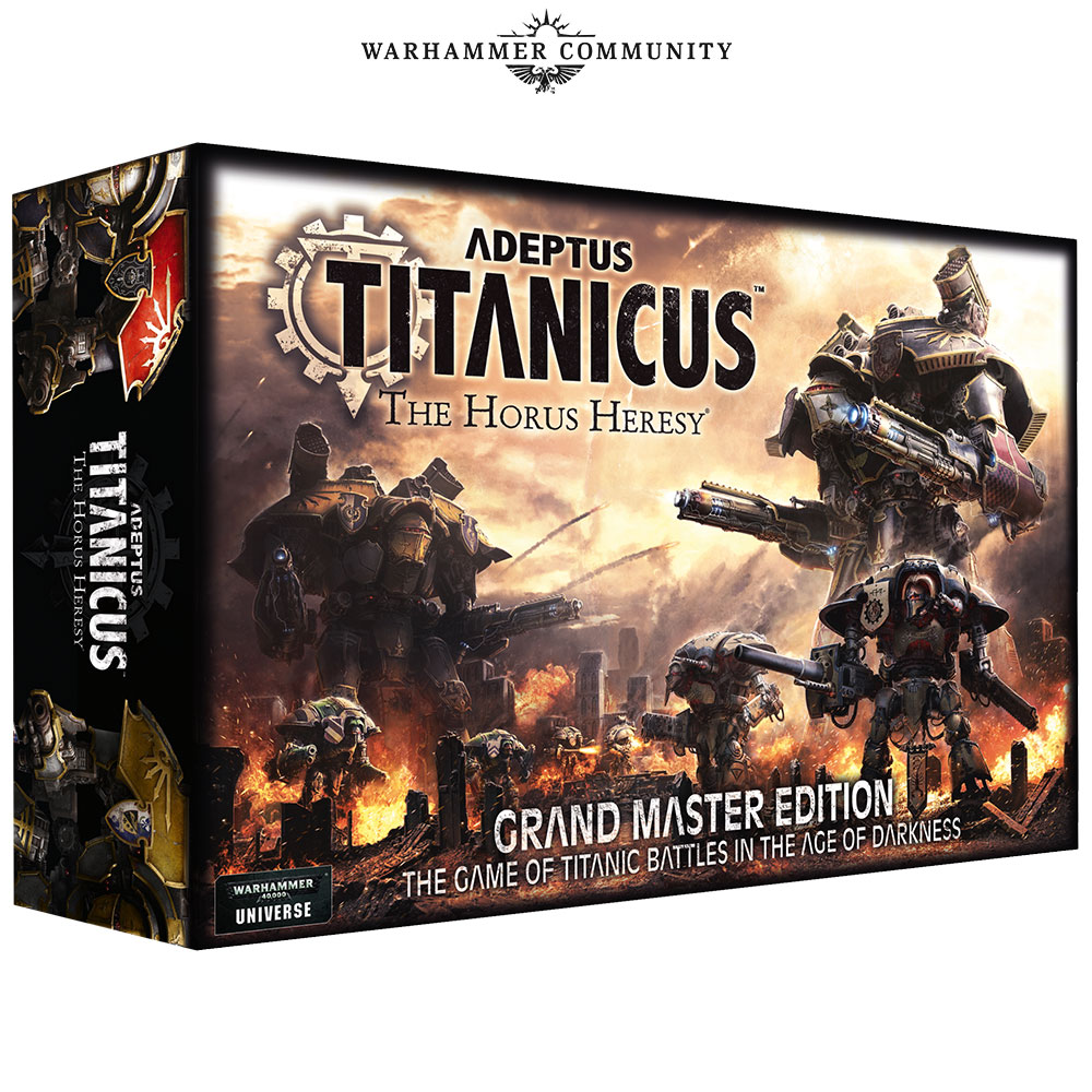 Adeptus Titanicus Grand Master Edition - Games Workshop