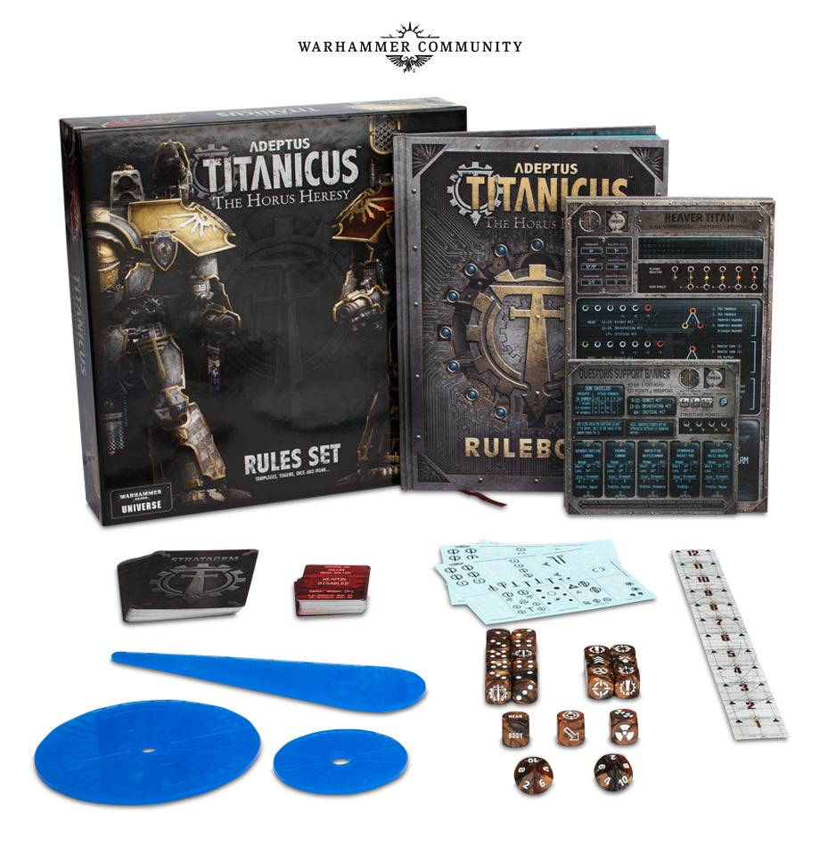 Adeptus Titanicus Rules Set - Games Workshop