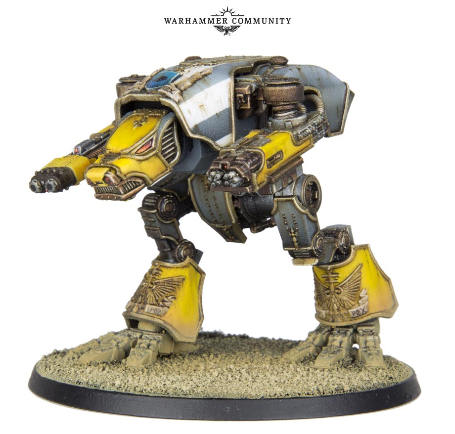 Adeptus Titanicus Warhound Titan - Games Workshop