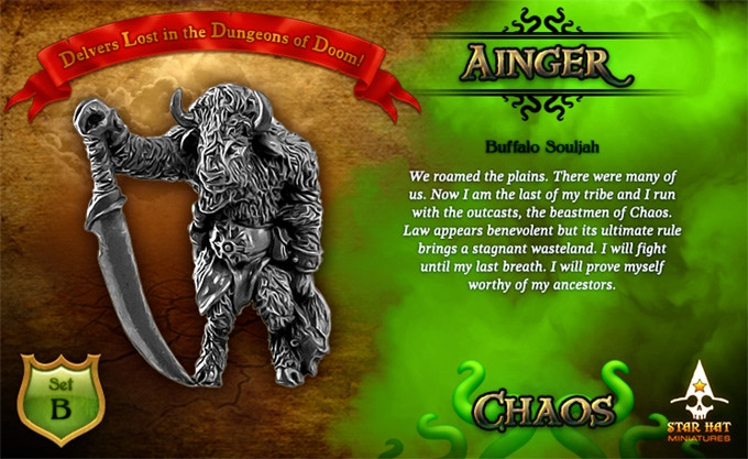 Ainger - Dungeons Of Doom