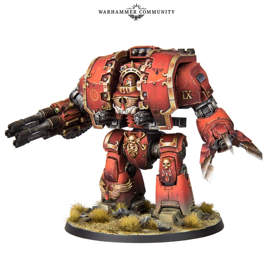 Blood Angel Leviathan Dreadnought - Games Workshop