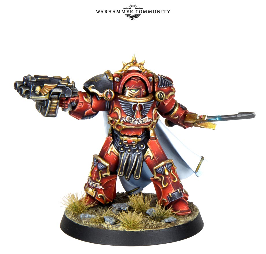 Blood Angels Praetor - Games Workshop