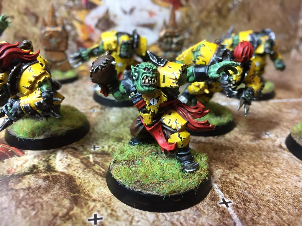 Blood Bowl Orcs #2 by follypuff