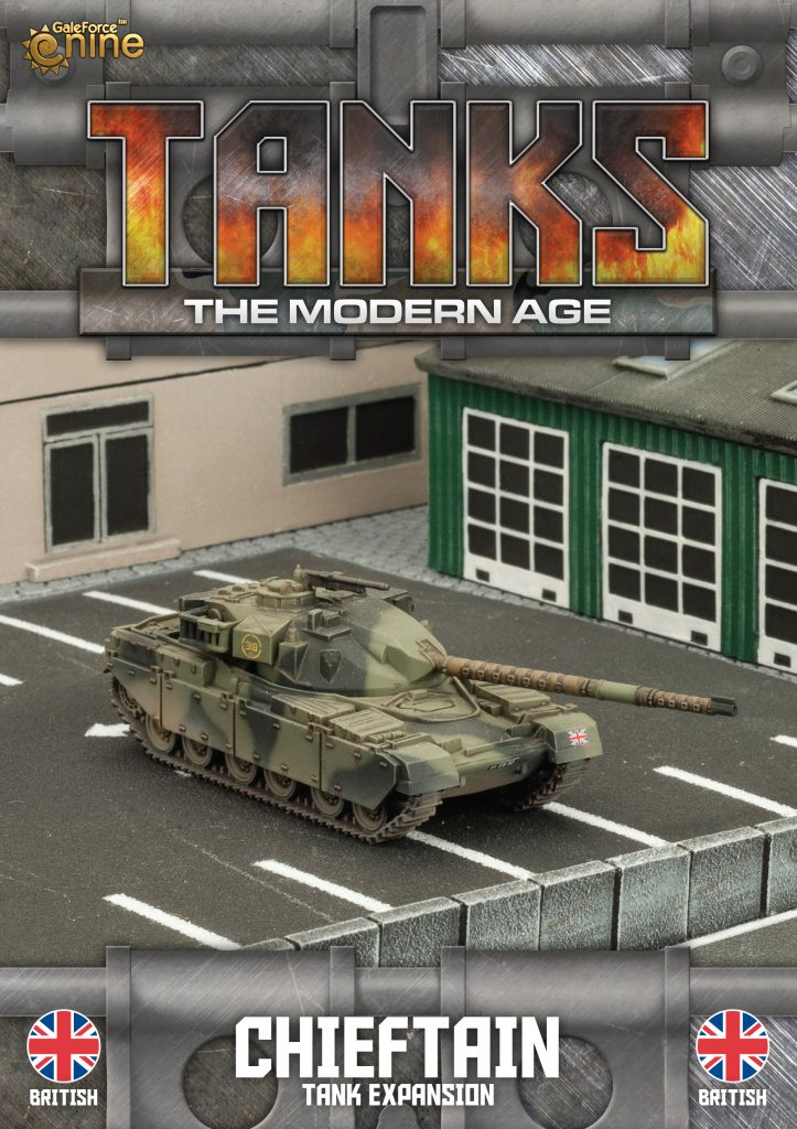 British Chieftain - TANKS Modern
