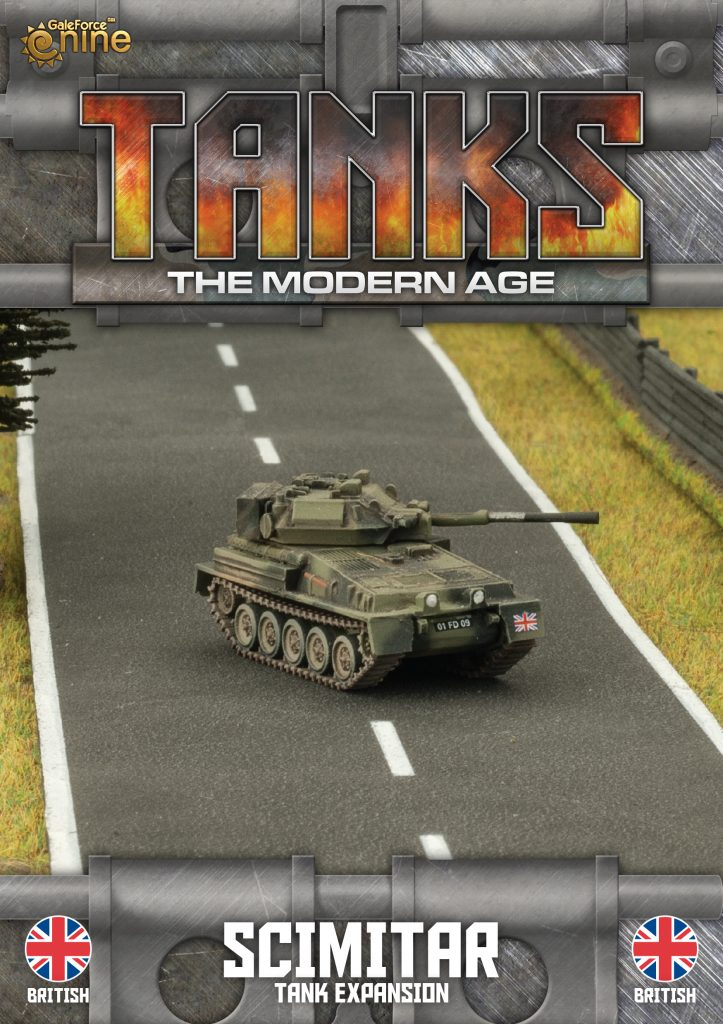 British Scimitar - TANKS Modern