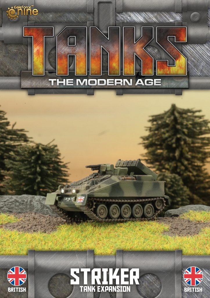 British Striker - TANKS Modern