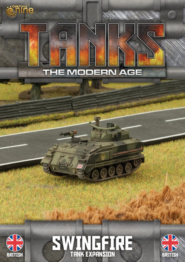 British Swingfire - TANKS Modern