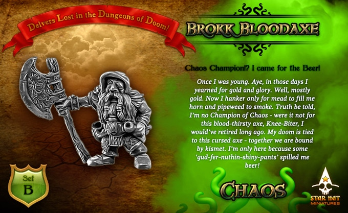 Brokk Bloodaxe - Dungeons Of Doom