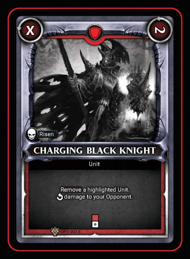 Charging Black Knight - Age Of Sigmar Champions