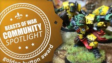 Community Spotlight: Blood Bowl Orcs, Stukas In The Sky & Painting Lovely Horses…