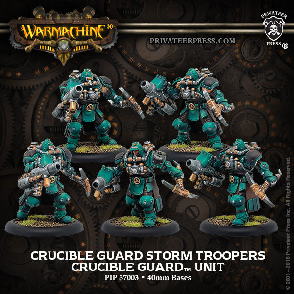 Crucible Guard Storm Troopers - Warmachine
