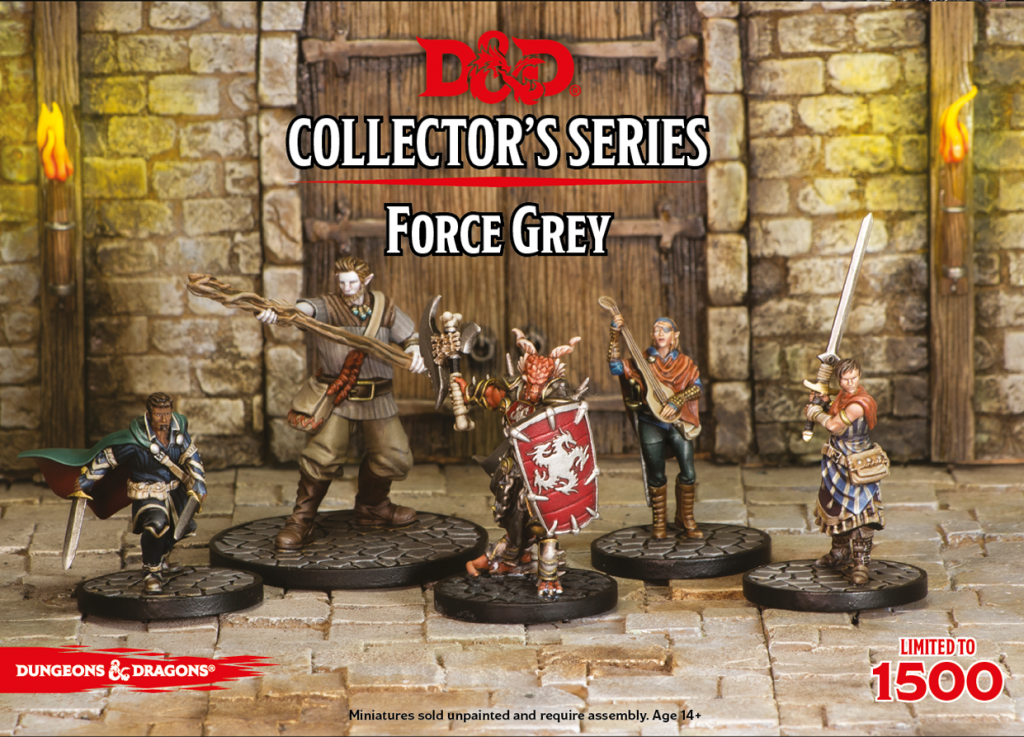 D&D Collector's Series Force Grey - Gale Force Nine