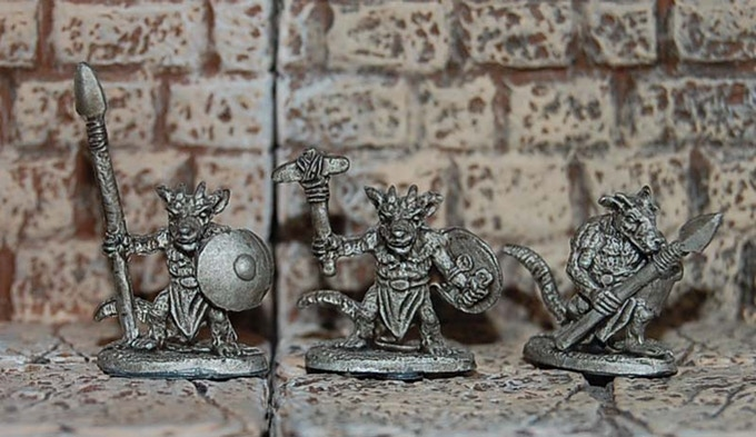 Dark Hold Kobolds (Close) - Rebel Minis