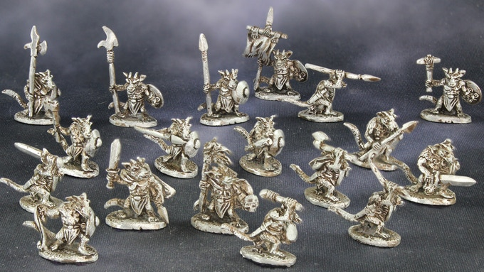 Dark Hold Kobolds Miniatures - Rebel Minis