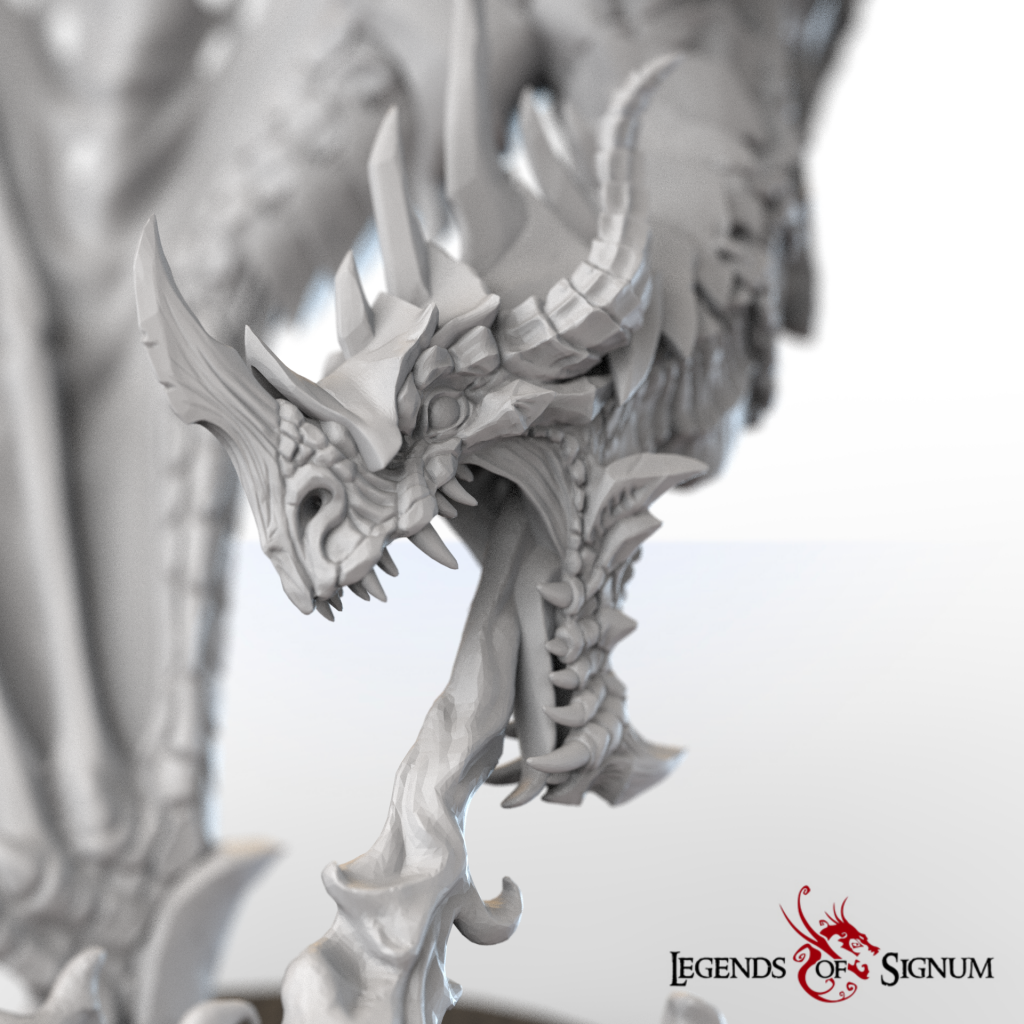 Dragon Detail - Legend Of Signum