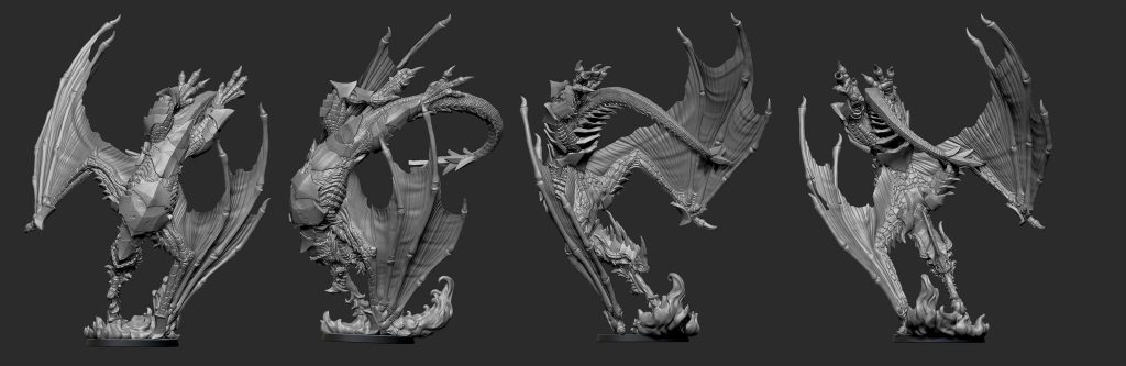 Dragon Full Render - Legend Of Signum
