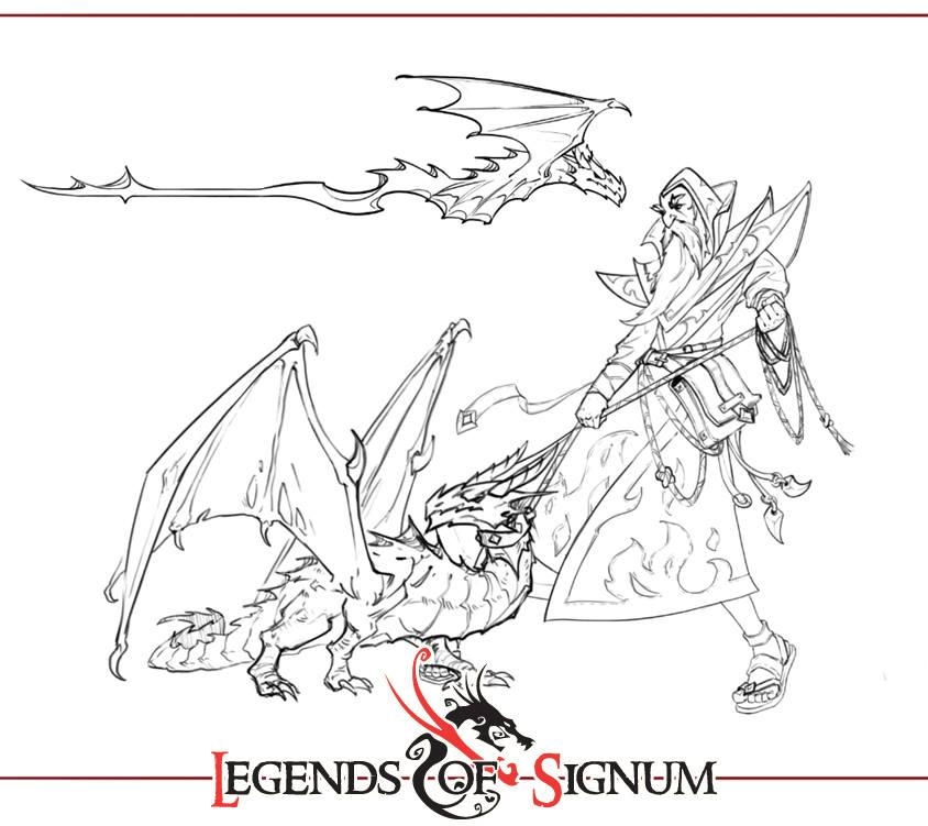 Dragon Hunter WiP (Alt) - Legends Of Signum