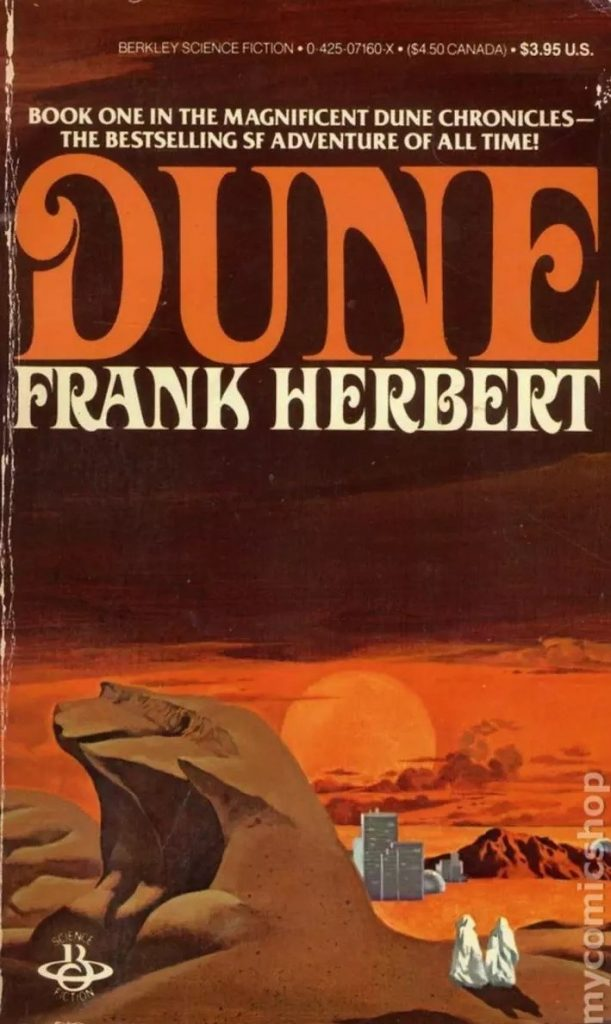Dune Original Cover - Gale Force Nine & Modiphius