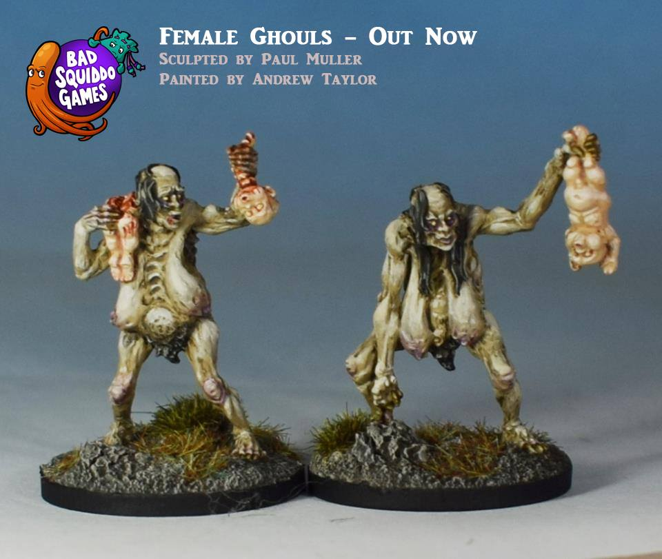 Female Ghouls - Bad Squiddo Games