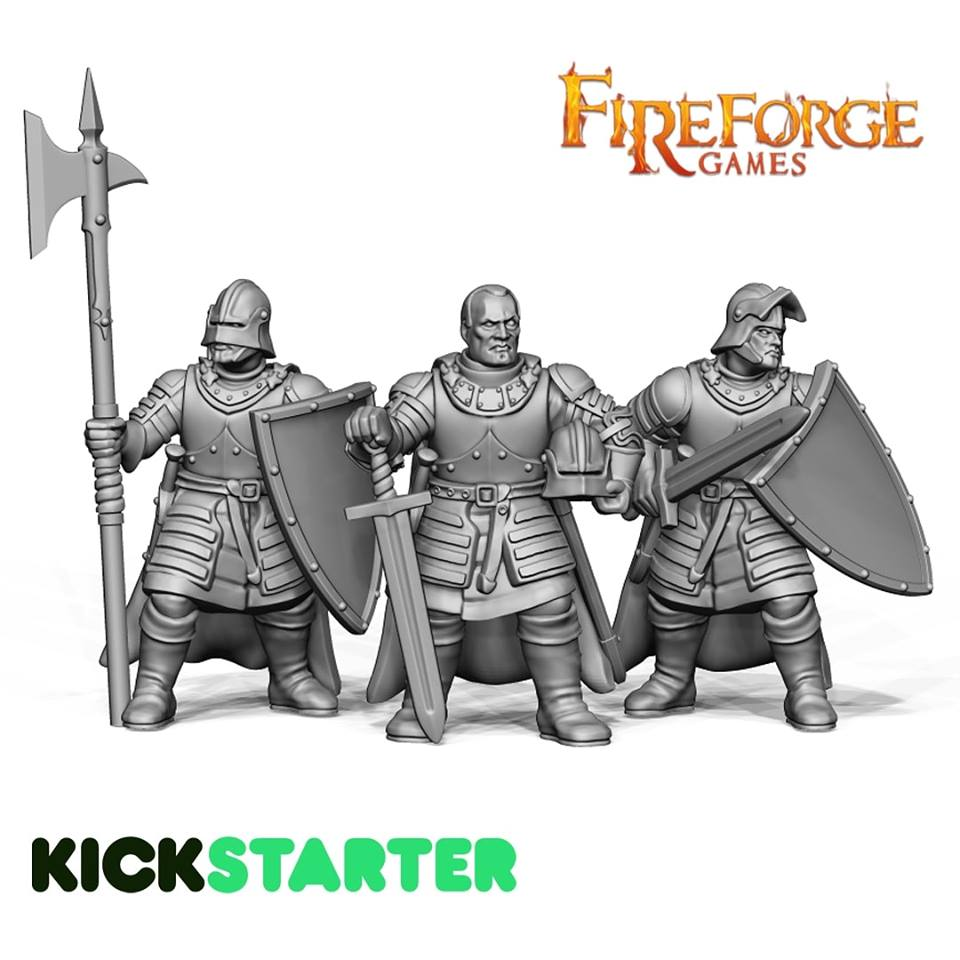 Forgotten World Human Leaders - Fireforge Games