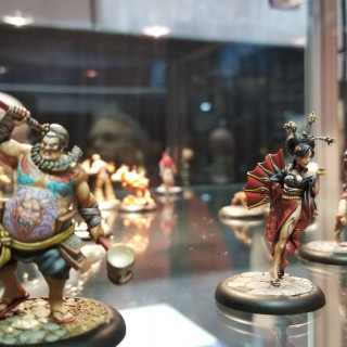 GCT Studios New Bushido Faction Swing Their Swords On GenCon's Gaming Tables [Comment to Win!]