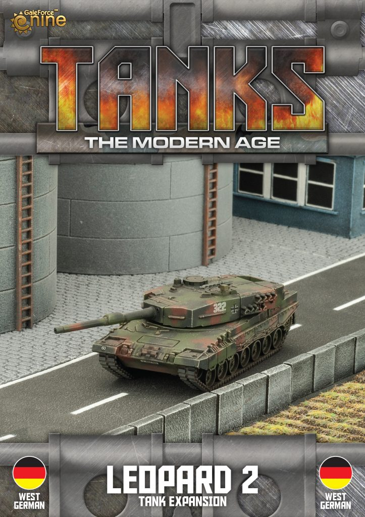 German Leopard 2 - TANKS Modern