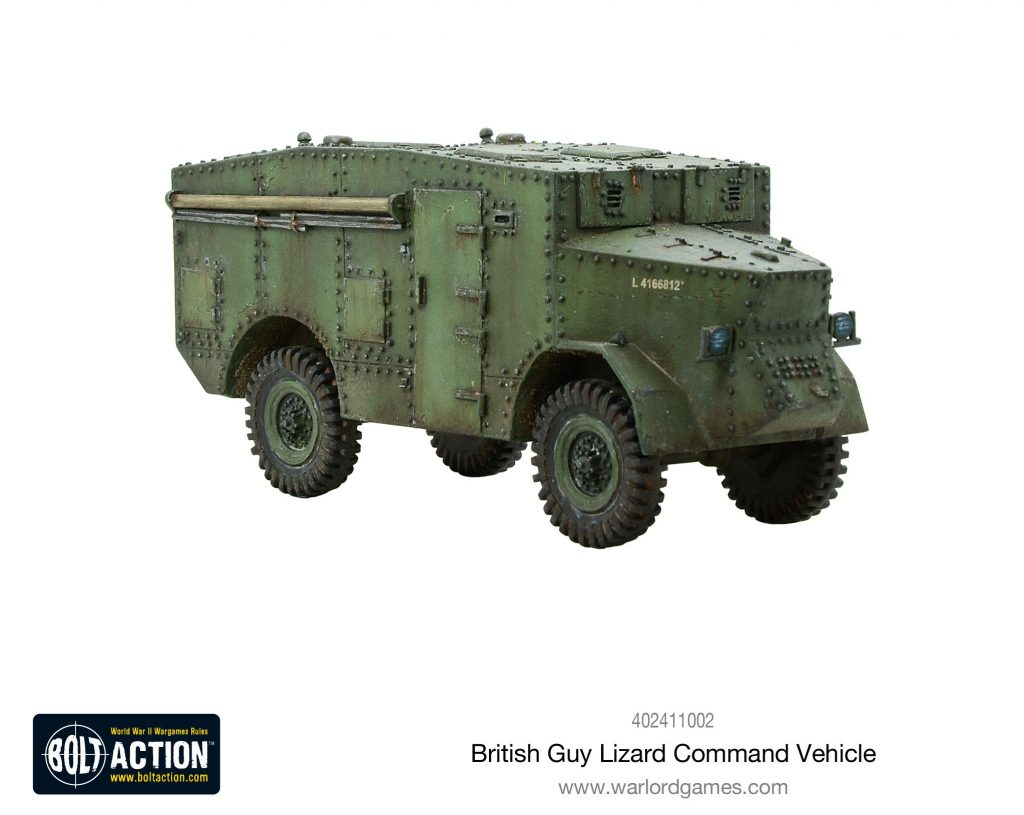 Guy Lizard Command Vehicle - Bolt Action