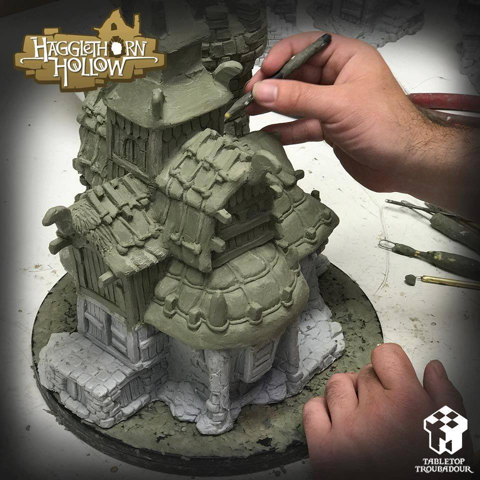 Hagglethorn Hollow Sculpting - Tabletop Troubadour