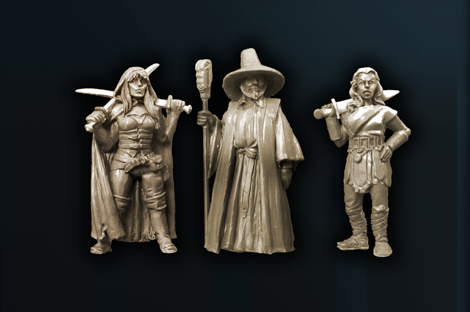 Heroes Of Aventuria - Westfalia Miniatures