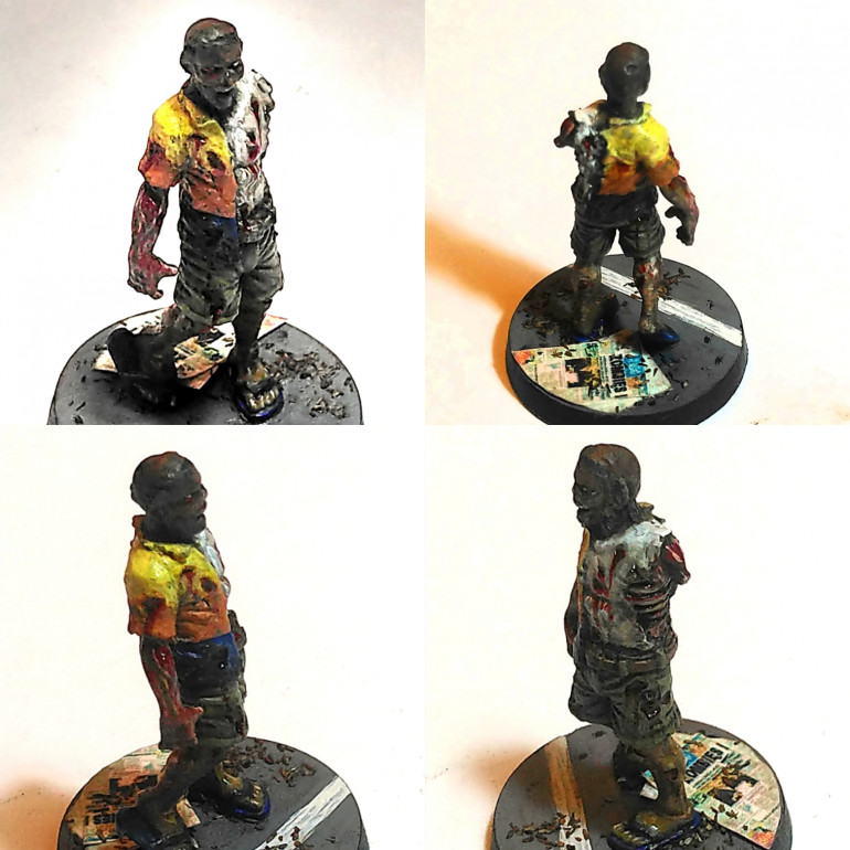 Loved painting this walker. Not sure which booster he's from.