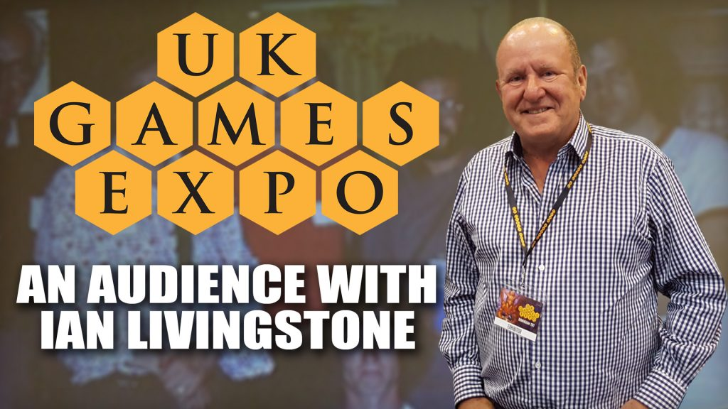 An Audience with Ian Livingstone - UKGE 2018