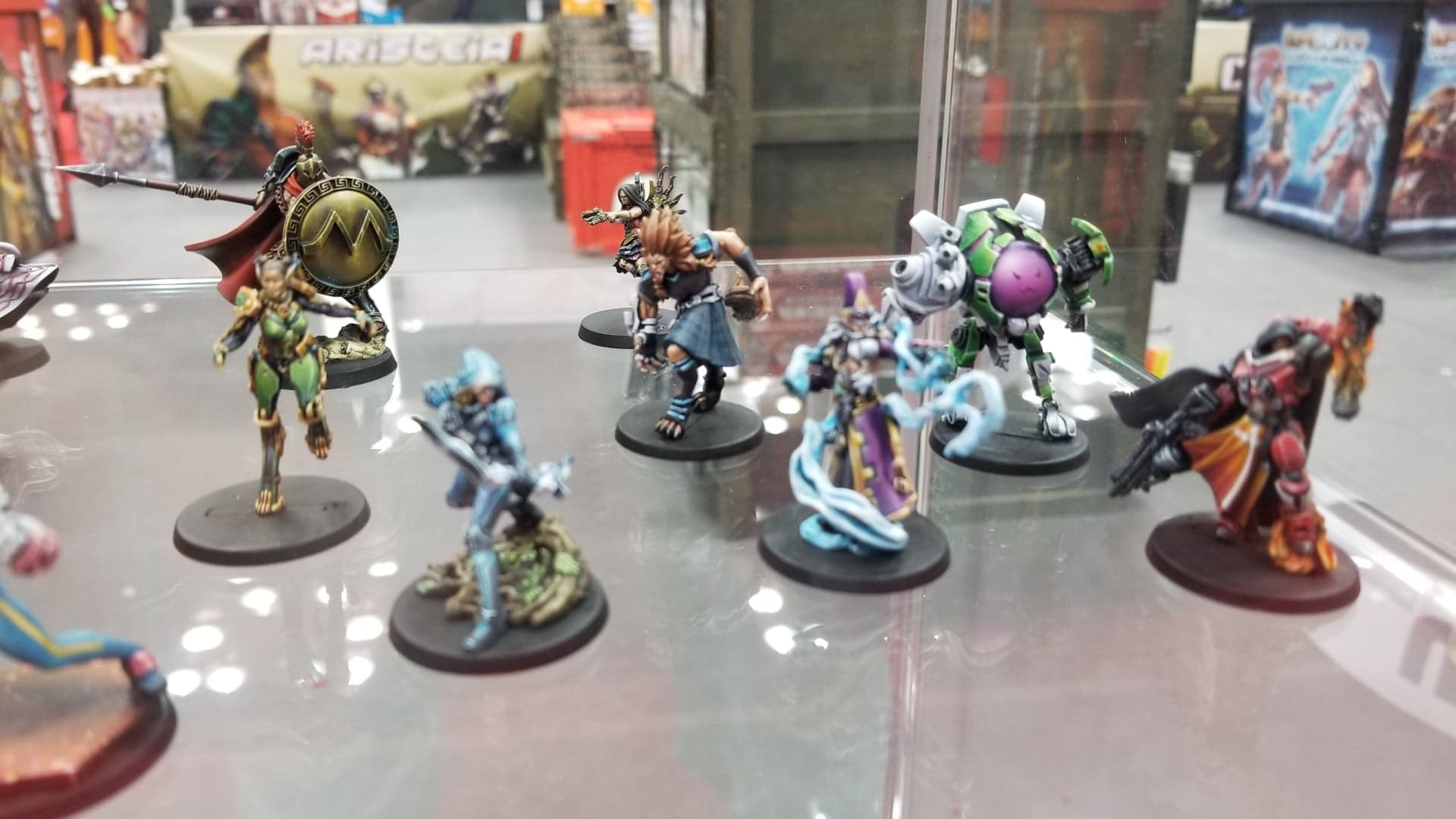 Expo Stand Belli : Infinity and aristeia get played at the corvus belli stand