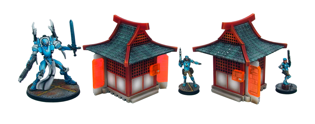 Kokkyo Shrines - Micro Art Studio