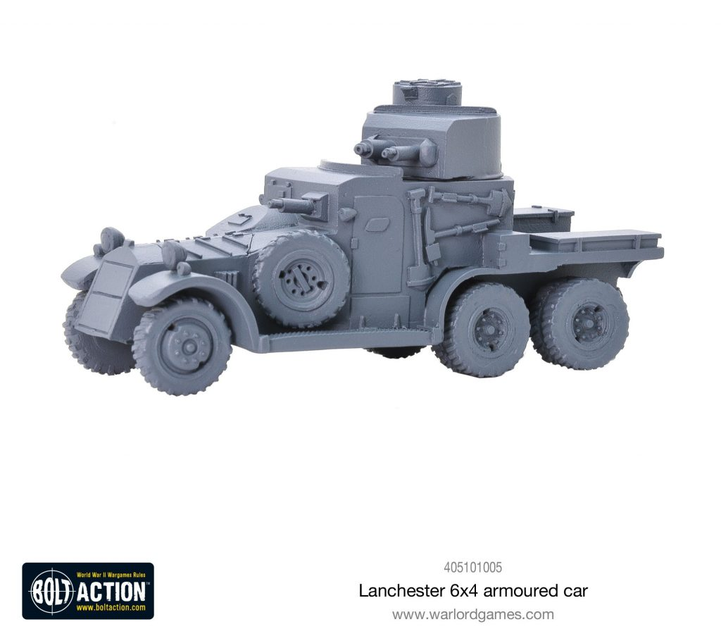 Lanchester Armoured Car - Bolt Action