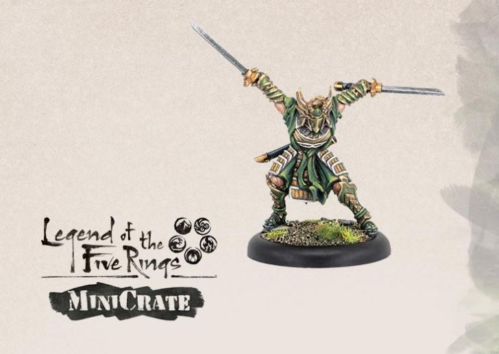 Legends Of The Five Rings MiniCrate #1 - Privateer Press