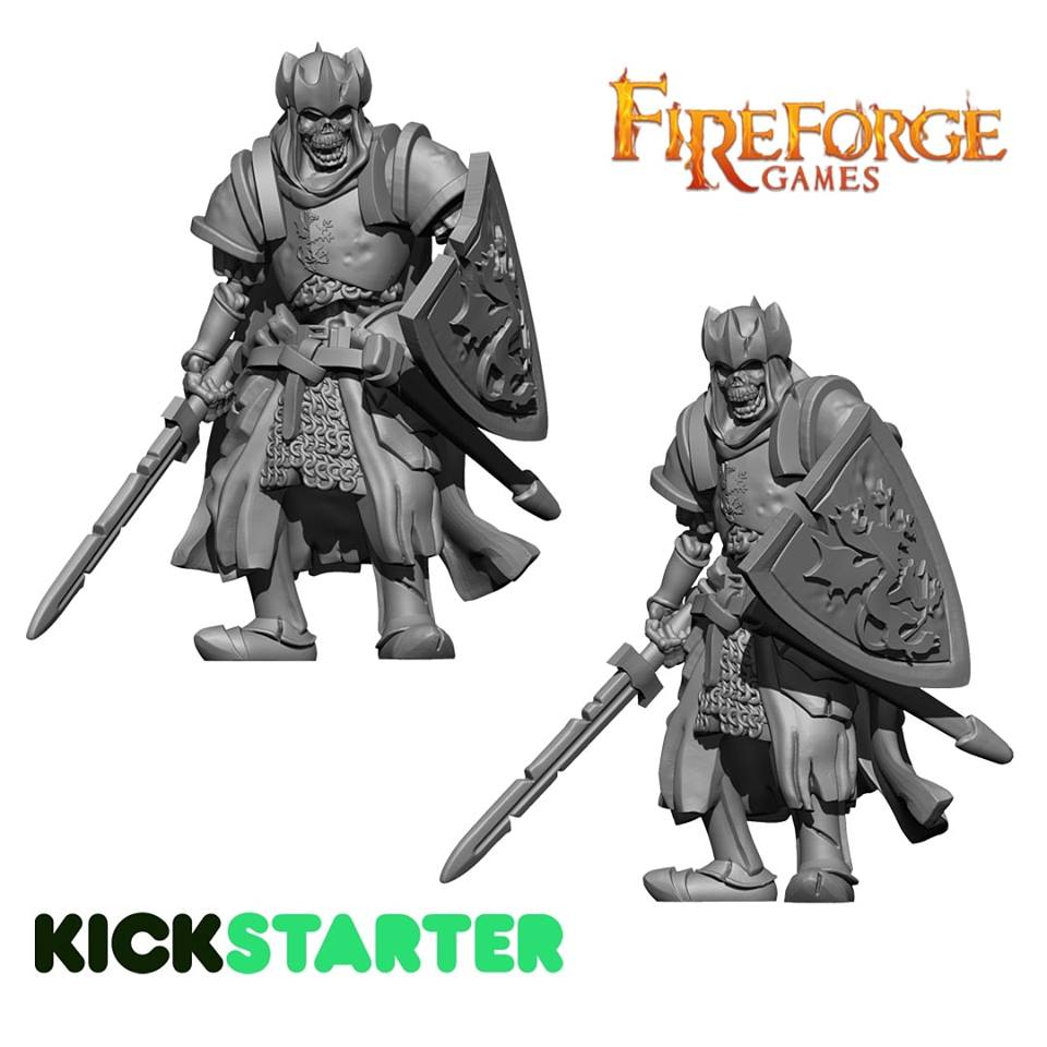 Living Dead Character WiP - FireForge Games