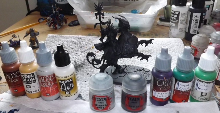 Lord Incantor and paints, for the Lord, at least.