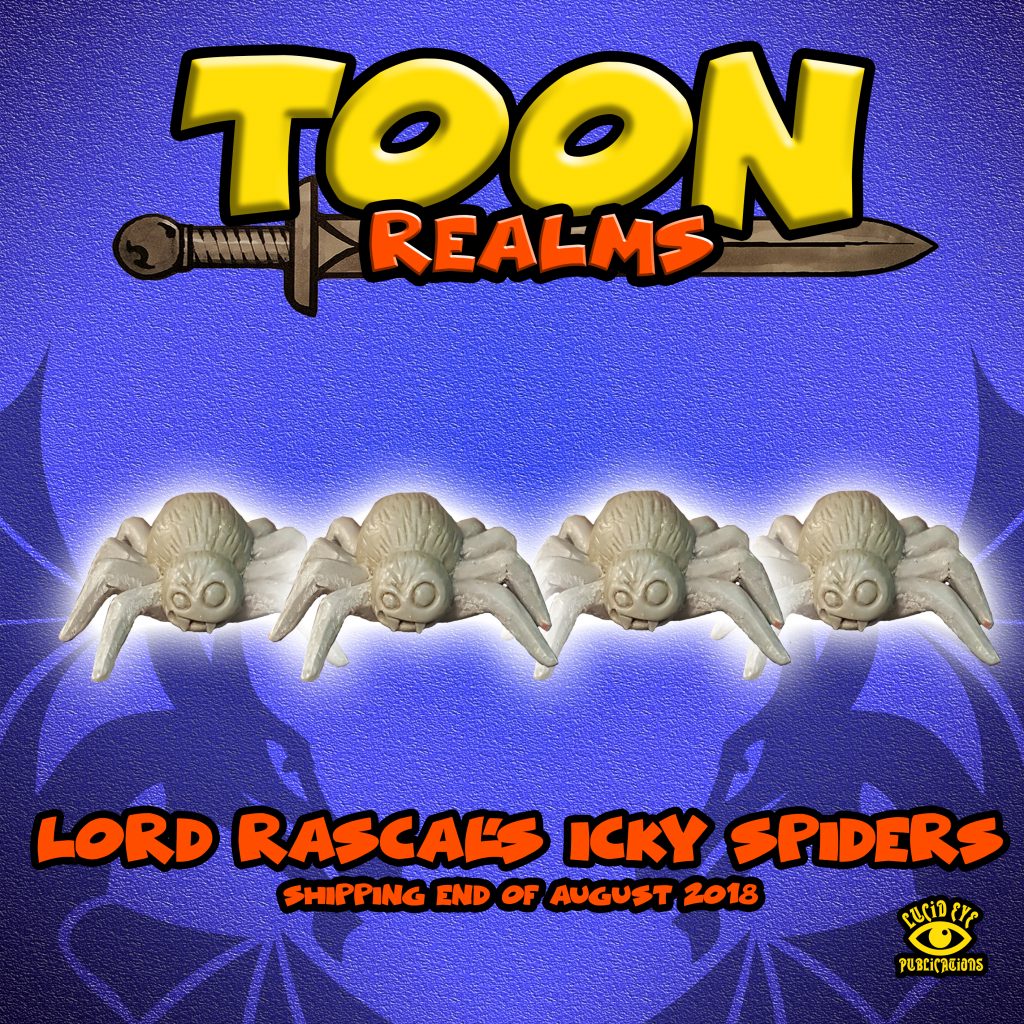 Lord Rascal's Icky Spiders - Lucid Eye