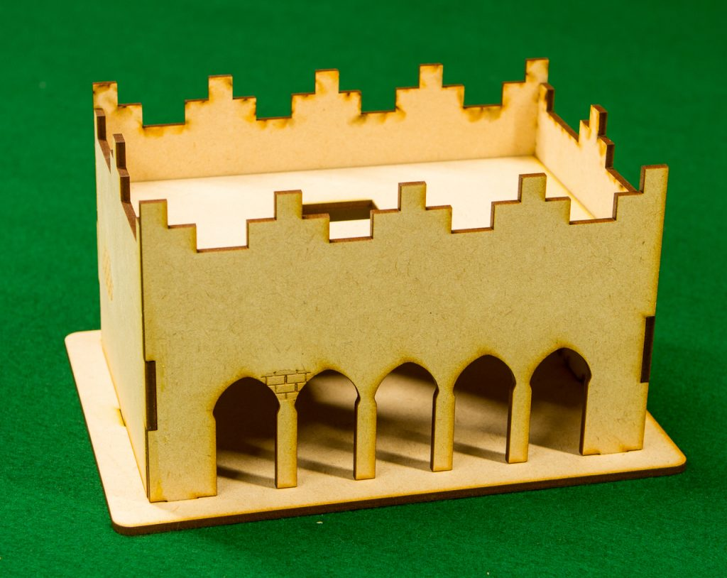 Middle-East One Story Building - GameCraft Miniatures