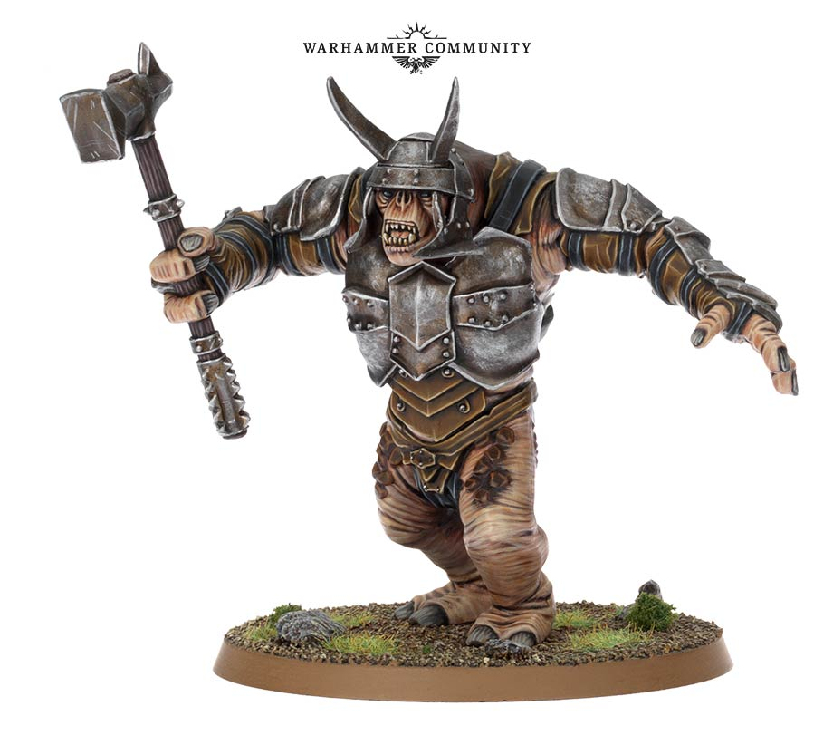 Middle-earth Armoured Troll - Games Workshop