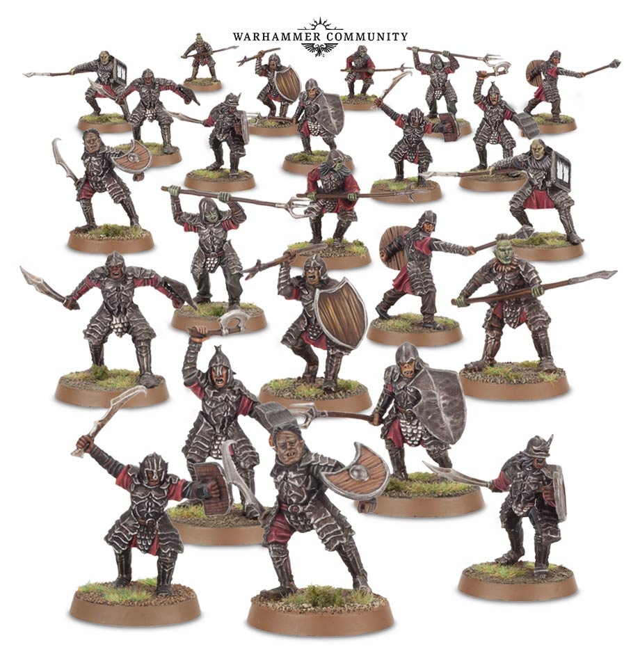 Middle-earth Morannon Orcs - Games Workshop