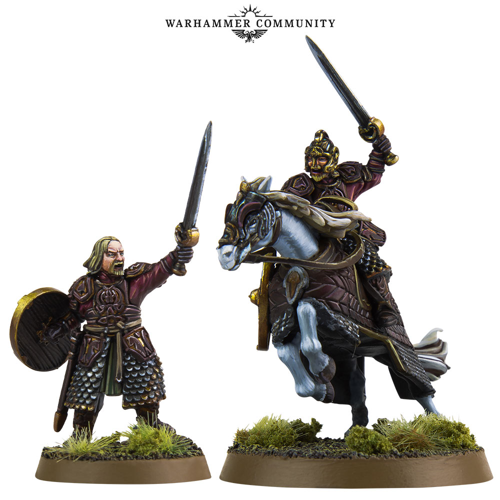 Middle-earth Theoden - Games Workshop