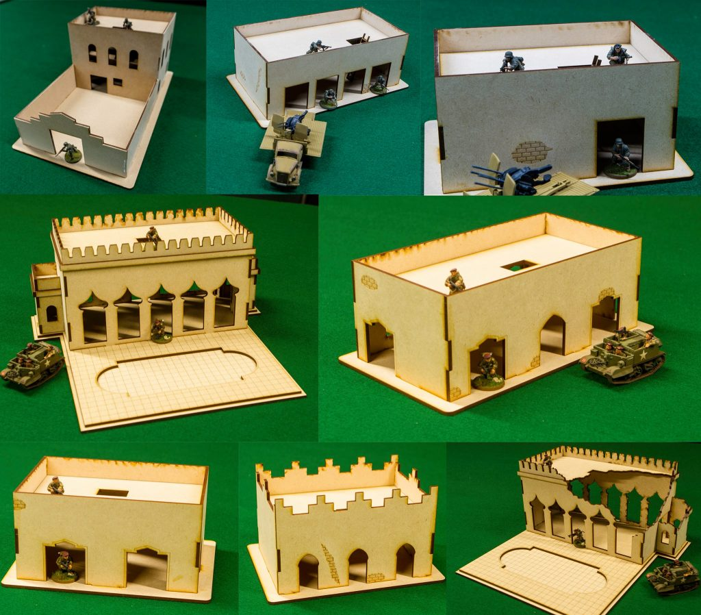 New Middle-East Terrain GameCraft Miniatures