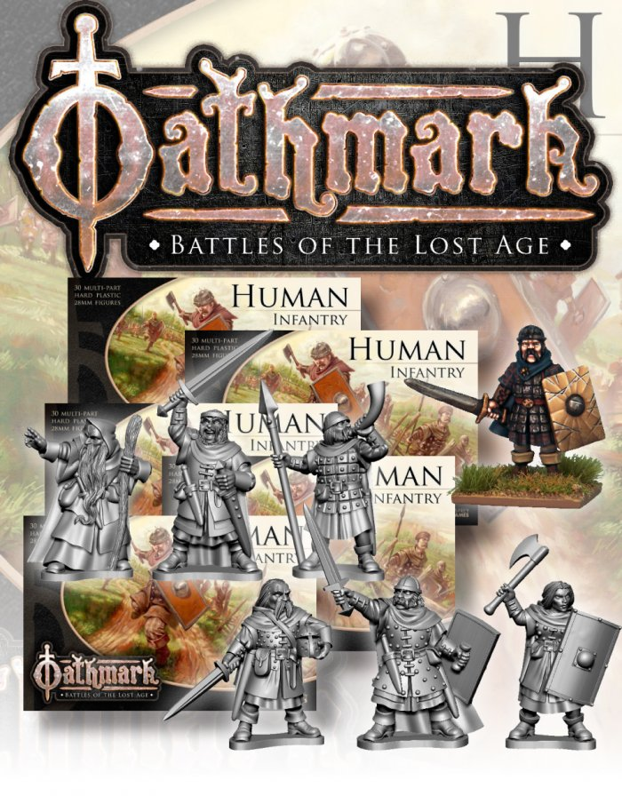 Oathmark Human Infantry - North Star