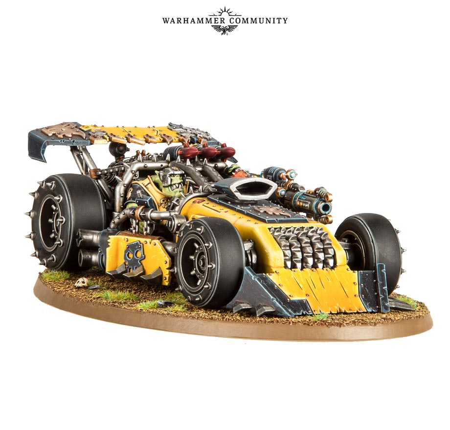 Ork War Buggy #1 - Games Workshop