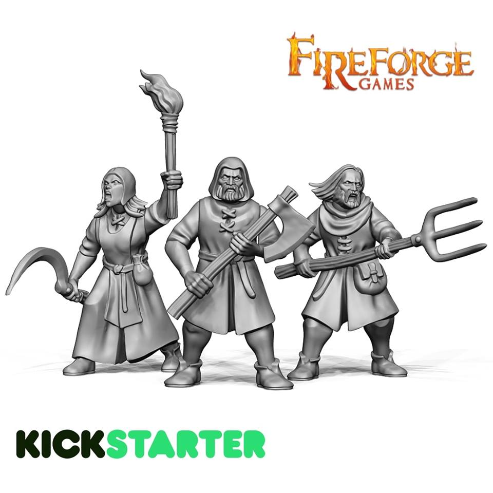 Peasant Rabble - Fireforge Games