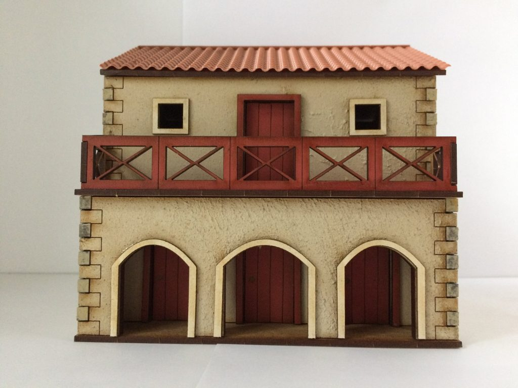 Pre-Painted Roman Shop House #1 - Empires At War