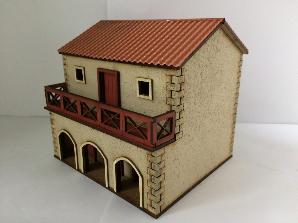 Pre-Painted Roman Shop House #2 - Empires At War
