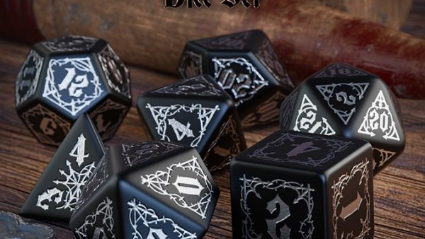 Awesome Themed Top Drawer Dice From Q Workshop