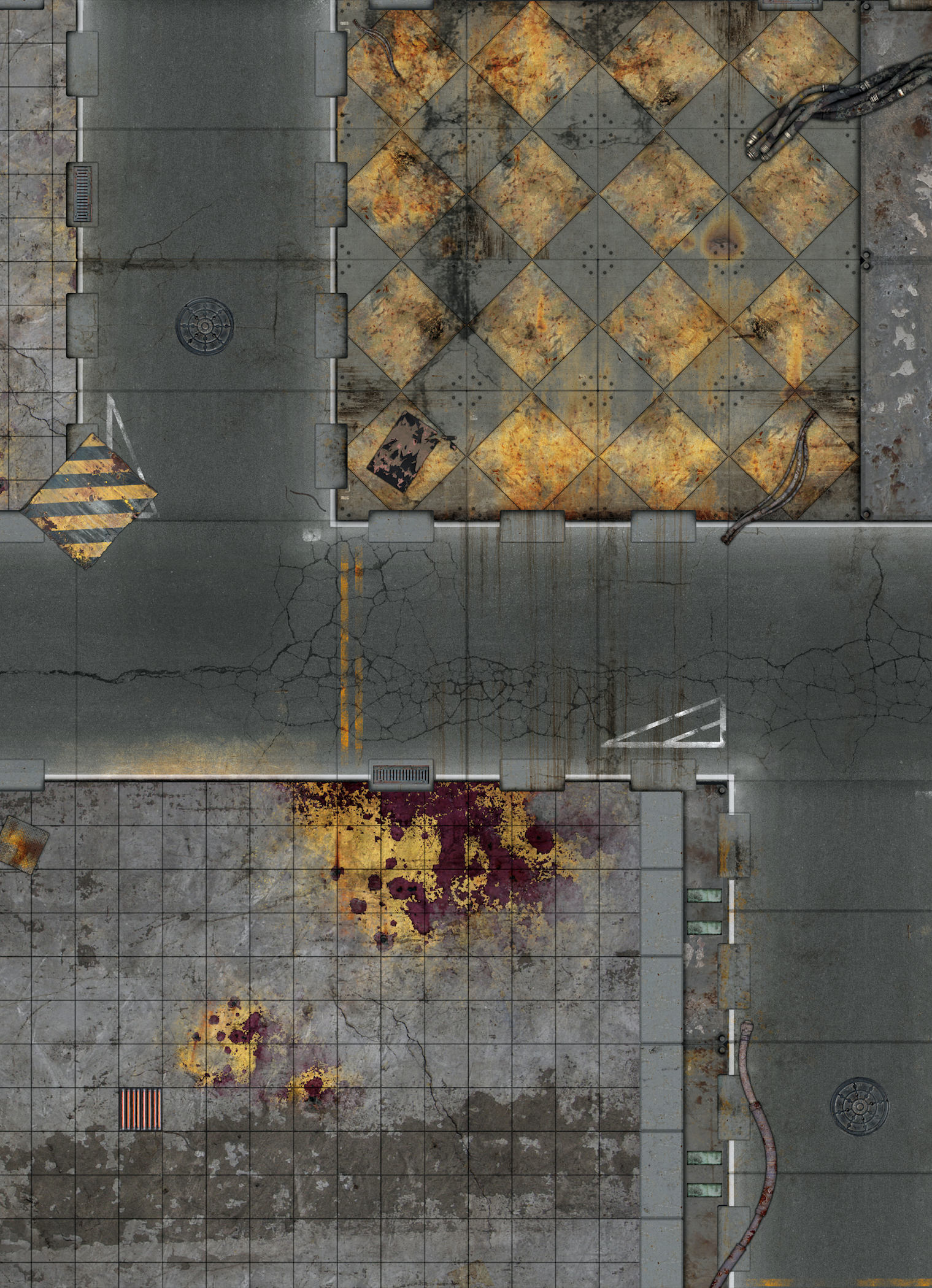 GameMat Eu Release New Kill Team Worthy Double-Sided Mat